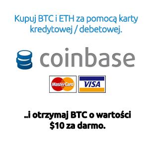 Giełda Coinbase - czytaj opinie, otrzymaj bonus $10 - przejdź na Kryptoportal.pl